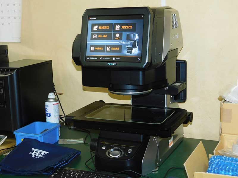 画像寸法レーザー測定器